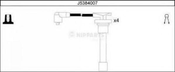 Комплект проводов зажигания NIPPARTS арт. J5384007