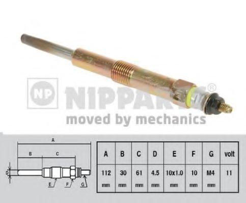 Свічка розжарювання Nipparts J5710501