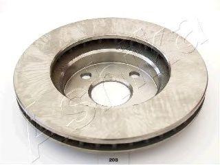 Тормозной диск ASHIKA арт. 6002208
