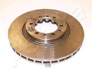 Тормозной диск ASHIKA арт. 6005539