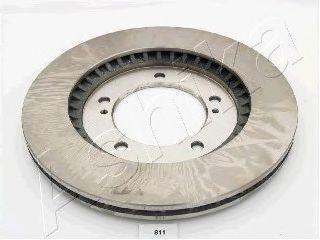 Тормозной диск ASHIKA арт. 6008811