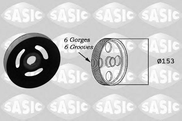 Ременный шкив, коленчатый вал SASIC арт.