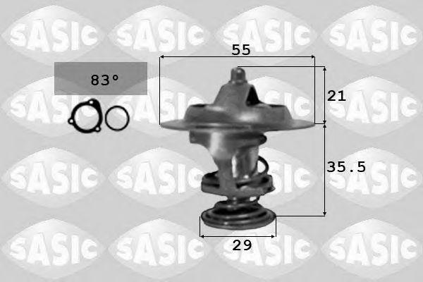 Термостат, охлаждающая жидкость SASIC арт. 3381231