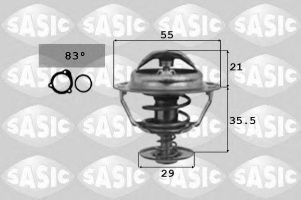 Термостат, охлаждающая жидкость SASIC арт.