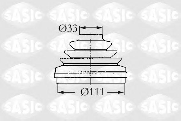 ПЫЛЬНИК П/О SASIC арт. 2933993