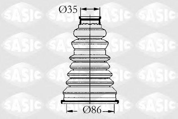 ПЫЛЬНИК П/О  (77001465489, 6001547699) SASIC арт.