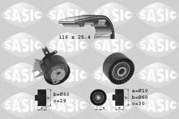 Комплект ремня ГРМ SASIC арт.