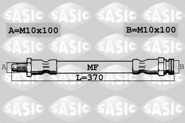 Тормозной шланг SASIC арт.