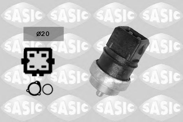 Датчик, температура охлаждающей жидкости SASIC арт. 3254006