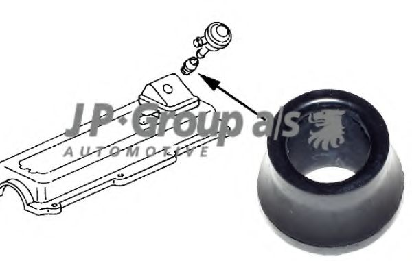 Прокладка, вентиляция картера JPGROUP арт. 1112001300