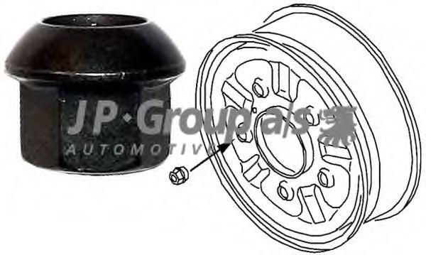 Гайка крепления колеса JPGROUP арт. 1160400600