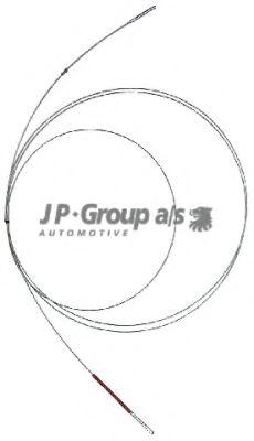 Тросик газа JPGROUP арт. 1170100300