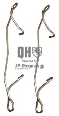 Комплектующие, колодки дискового тормоза JPGROUP арт.