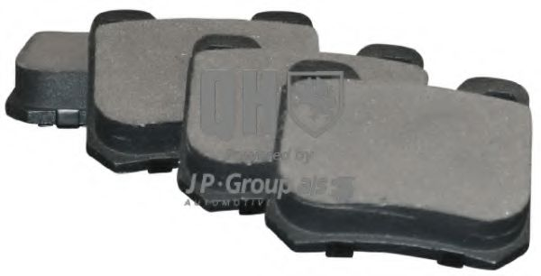Комплект тормозных колодок, дисковый тормоз JPGROUP арт.