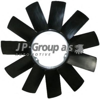 Крыльчатка вентилятора, охлаждение двигателя JPGROUP арт.