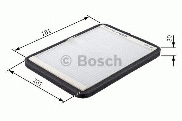 Фільтр салону Bosch 1987432013