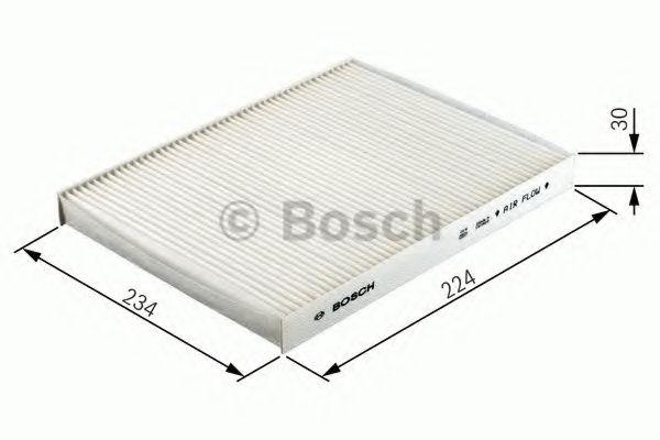 Фильтр, воздух во внутренном пространстве Bosch - 1 987 432 166