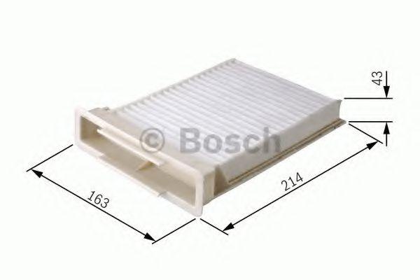 Фільтр салону Bosch 1987432189