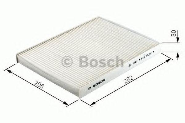 Фільтр салону вугільний Bosch 1987432300