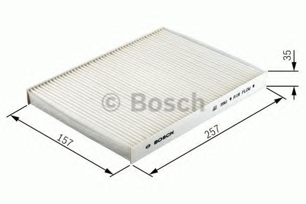 Фільтр салону вугільний Bosch 1987432327