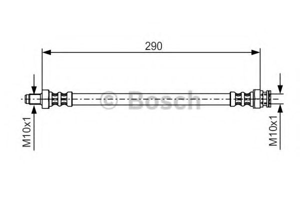 Тормозной шланг BOSCH арт. 1987476688