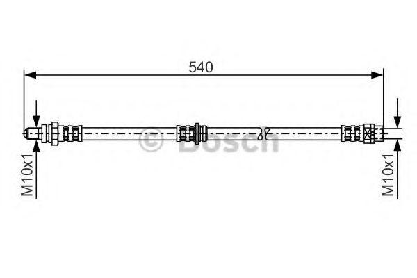 Тормозной шланг BOSCH арт. 1987481053