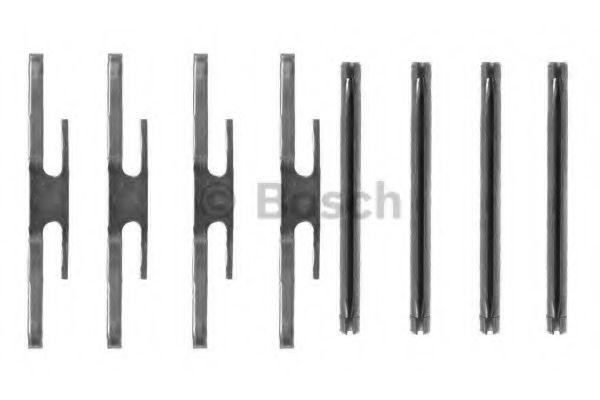 Аксессуары, тюнинг Комплектующие, колодки дискового тормоза BOSCH арт. 1987474129