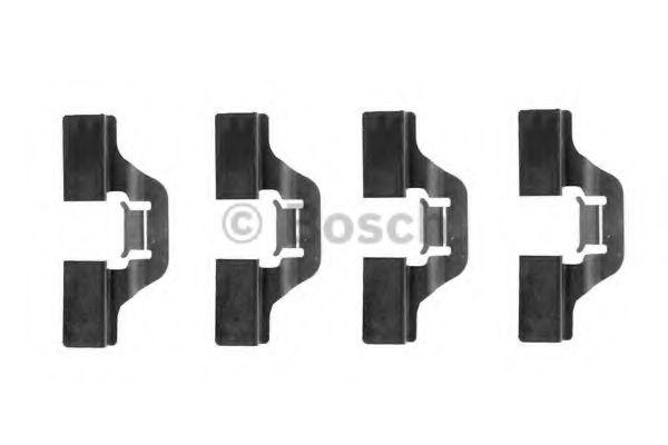 Аксессуары, тюнинг Комплектующие, колодки дискового тормоза BOSCH арт.