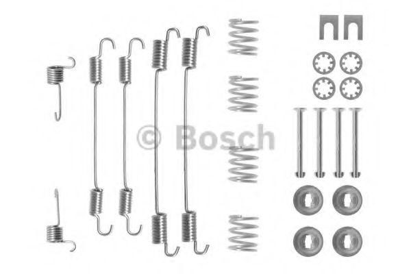 Аксессуары, тюнинг Комплектующие, тормозная колодка BOSCH арт. 1987475253