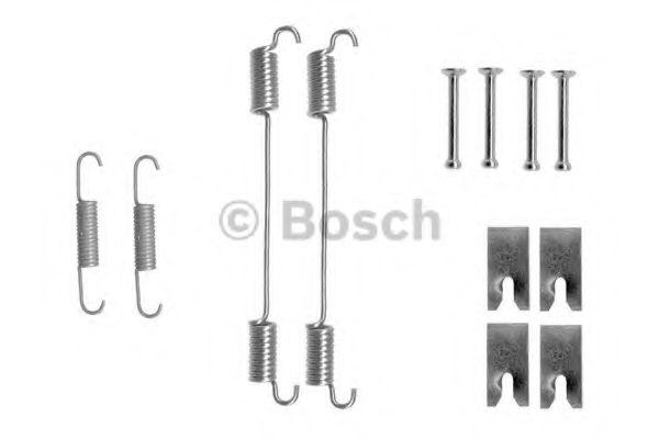 Аксессуары, тюнинг Комплектующие, тормозная колодка BOSCH арт. 1987475316