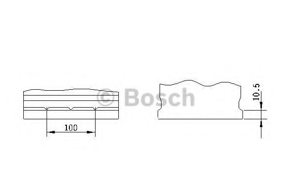 Акумуляторна батарея 95А Bosch 0092S40290