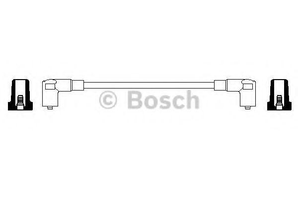 Провод зажигания BOSCH арт. 0356904070