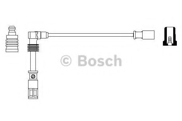 Провод зажигания BOSCH арт. 0356912857