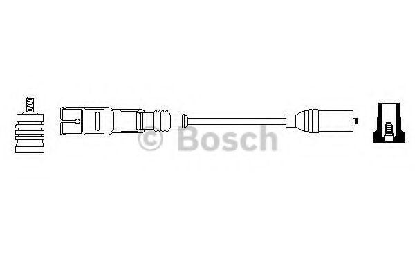 Провод зажигания BOSCH арт. 0356912883