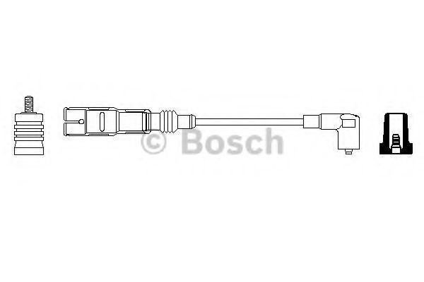 Провод зажигания BOSCH арт. 0356912945