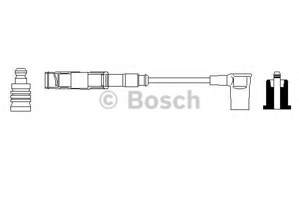 Провод зажигания BOSCH арт. 0356912905