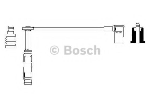 Провод зажигания BOSCH арт. 0356912930