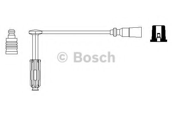 Провод зажигания BOSCH арт. 0356912983