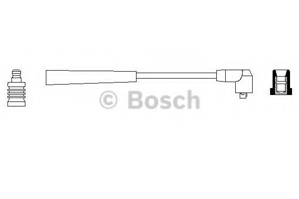 Провод зажигания BOSCH арт. 0986356002