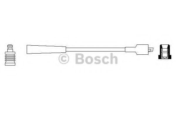 Провод зажигания BOSCH арт. 0986356019