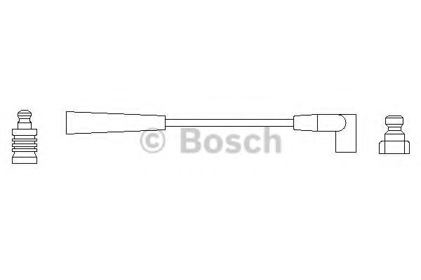 Провод зажигания BOSCH арт. 0986356061