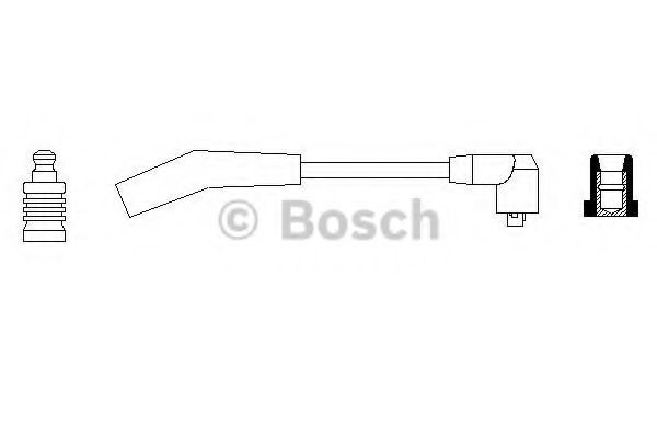 Провод зажигания BOSCH арт. 0986356118