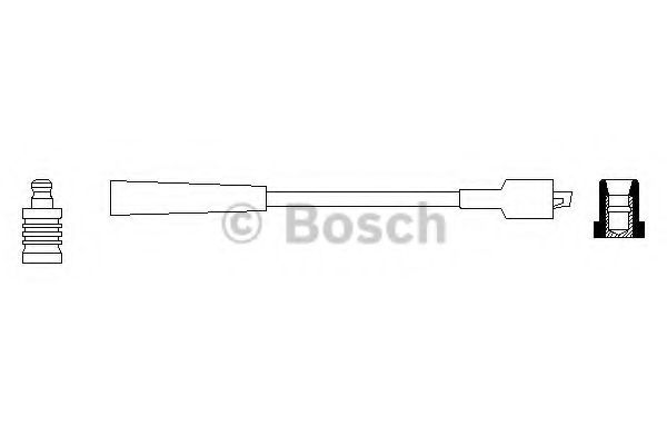 Провод зажигания BOSCH арт. 0986356119