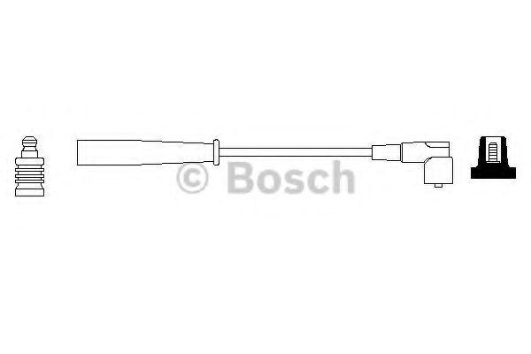 Провод зажигания BOSCH арт. 0986356129