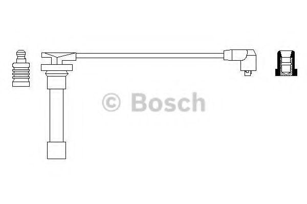 Провод зажигания BOSCH арт. 0986356171