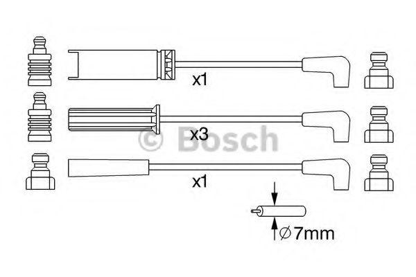 Дріт високовольтний Bosch 0986356972