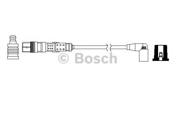 Дріт високовольтний Bosch 0986357735