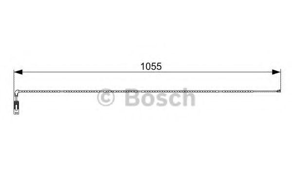 Аксессуары, тюнинг Сигнализатор, износ тормозных колодок BOSCH арт. 1987473001