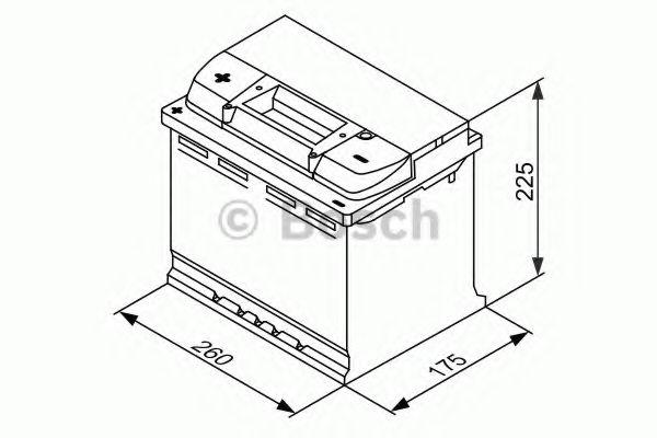 Акумуляторна батарея 75А Bosch 0092L40270