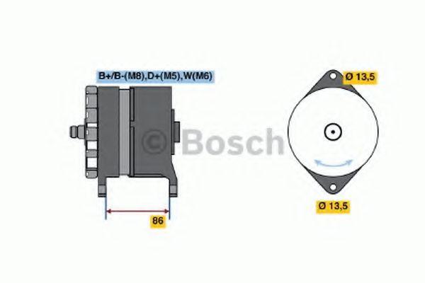 Генератор Bosch 0120689524